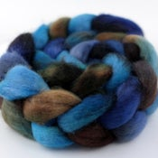 Image of Blueberry Picking - BFL Wool Top/Roving