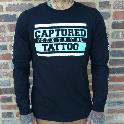 Image of CAPTURED TATTOO HC LIVES LONG SLEEVE T-SHIRT