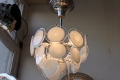Image of vintage 1960's italian  ceiling light