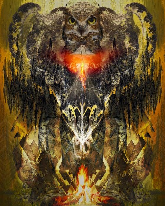 "Image of Native Flame 8"" x 10"" Print"