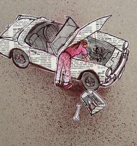 Image of Woman car mechanic