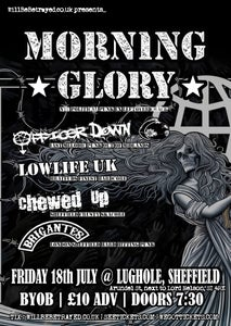 Image of Morning Glory, Officer Down + more @ The Lughole, Sheffield (PICK UP ON DOOR)