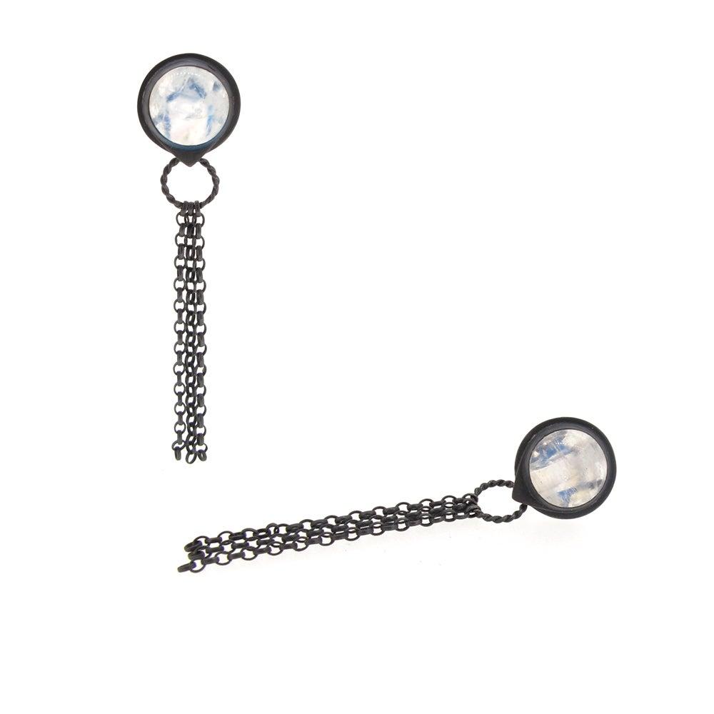 Image of {NEW} Nautilus Spyglass earrings