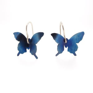Image of Springtime Butterfly drop earrings