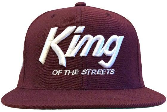 Image of Kings Snapback Hat  | BURGUNDY