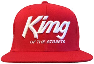 Image of Kings Snapback Hat  | RED