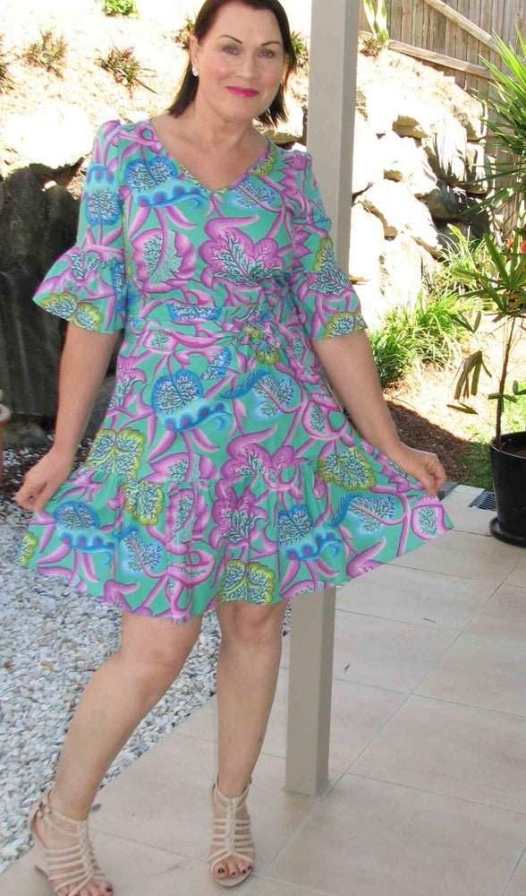 Image of Norma Jean Dress #1 - size 10