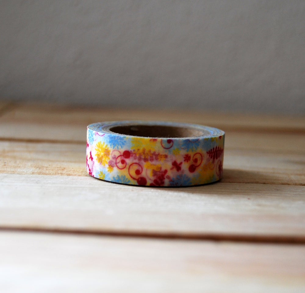 Image of WASHI TAPE FLORES