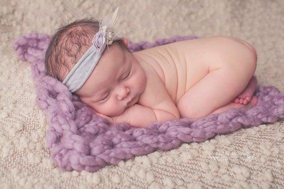 Image of Newborn & Baby Blanket/ Stuffer Prop