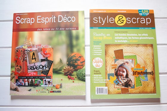 Image of Scrap Espirit Deco + Style & Scrap