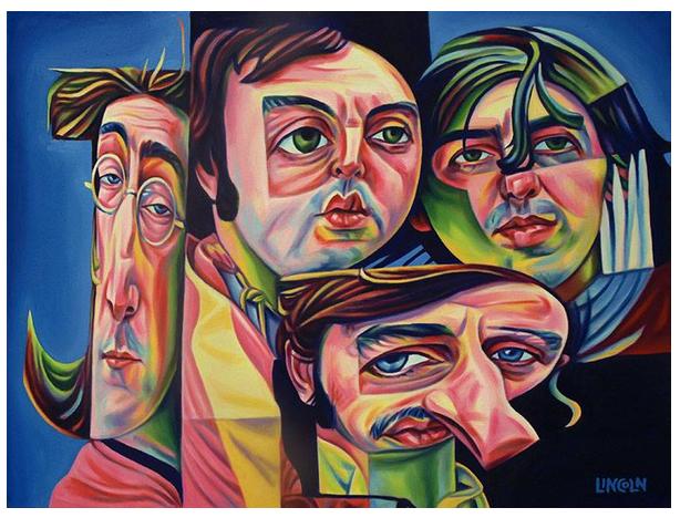 Image of Beatles Print