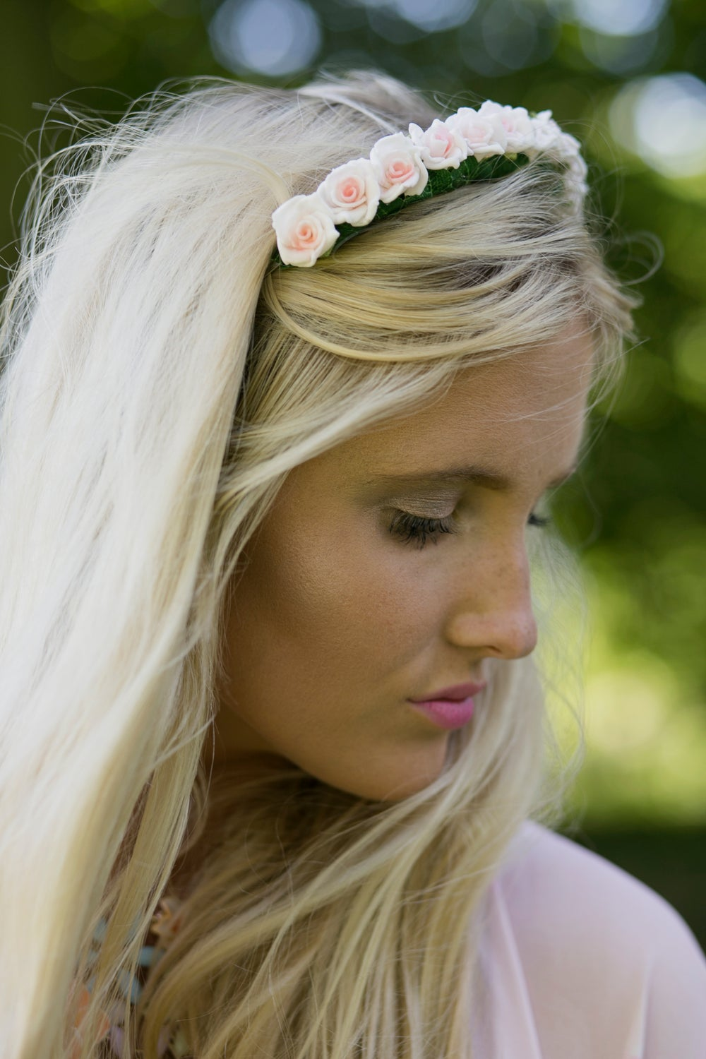 Image of Mini Rose Crown Pale Peach