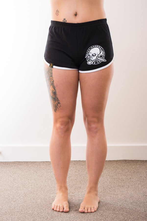 Image of Girls Hell Knocker American Apparel Gym/Derby Shorts