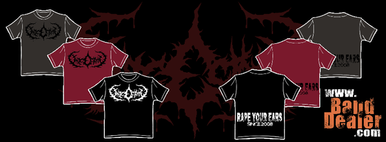 "Image of ""RAPE YOUR EARS"" shirts (Gildan)"