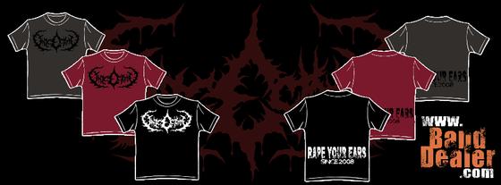 """Image of """"RAPE YOUR EARS"""" shirts (Gildan)"""