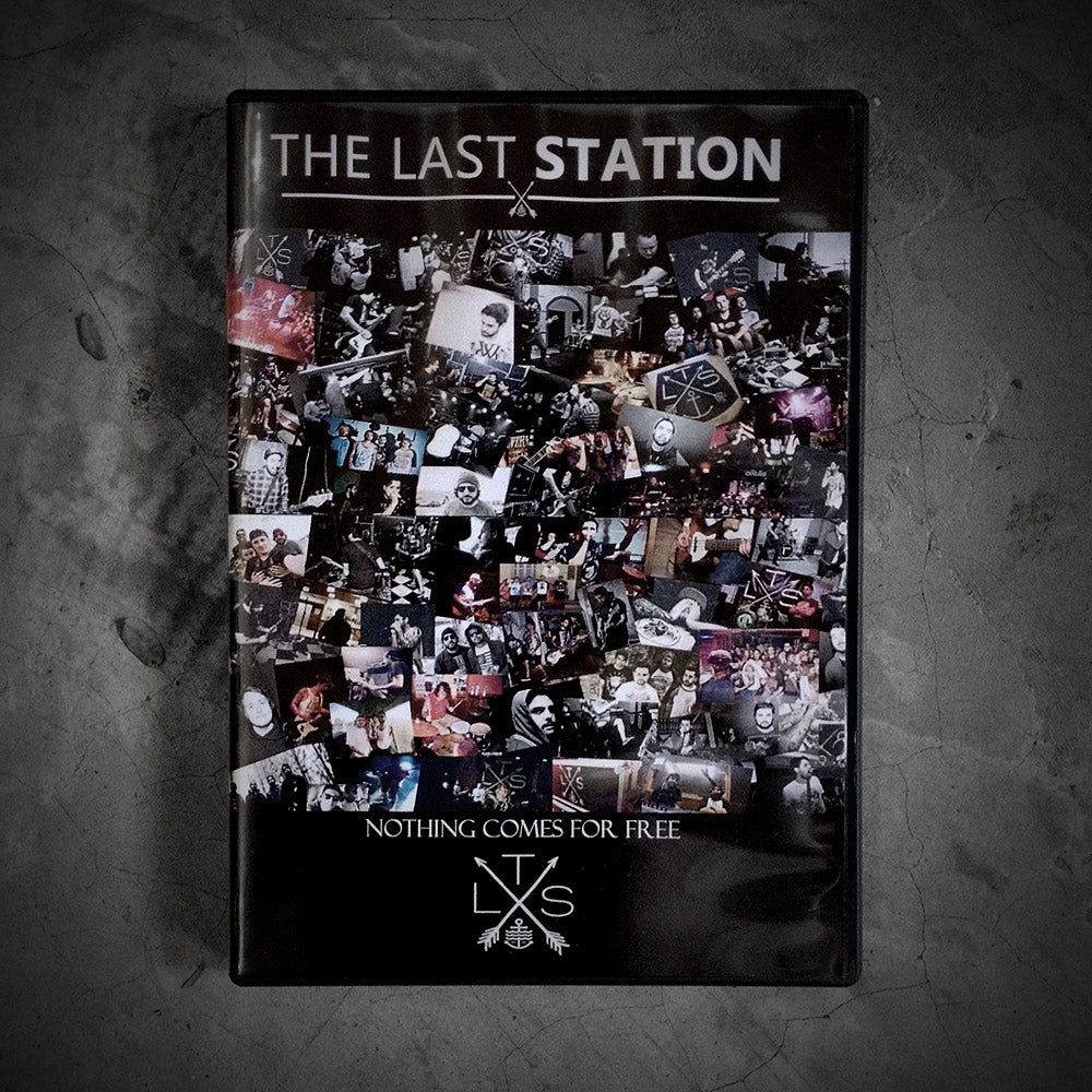 Image of DVD THE LAST STATION - NOTHING COMES FOR FREE