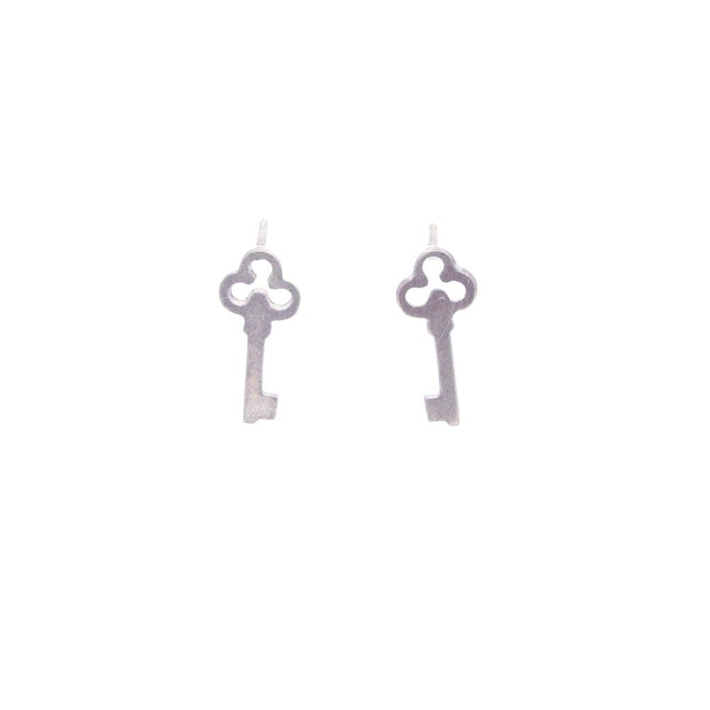 Image of {NEW}Wonderland Key earrings