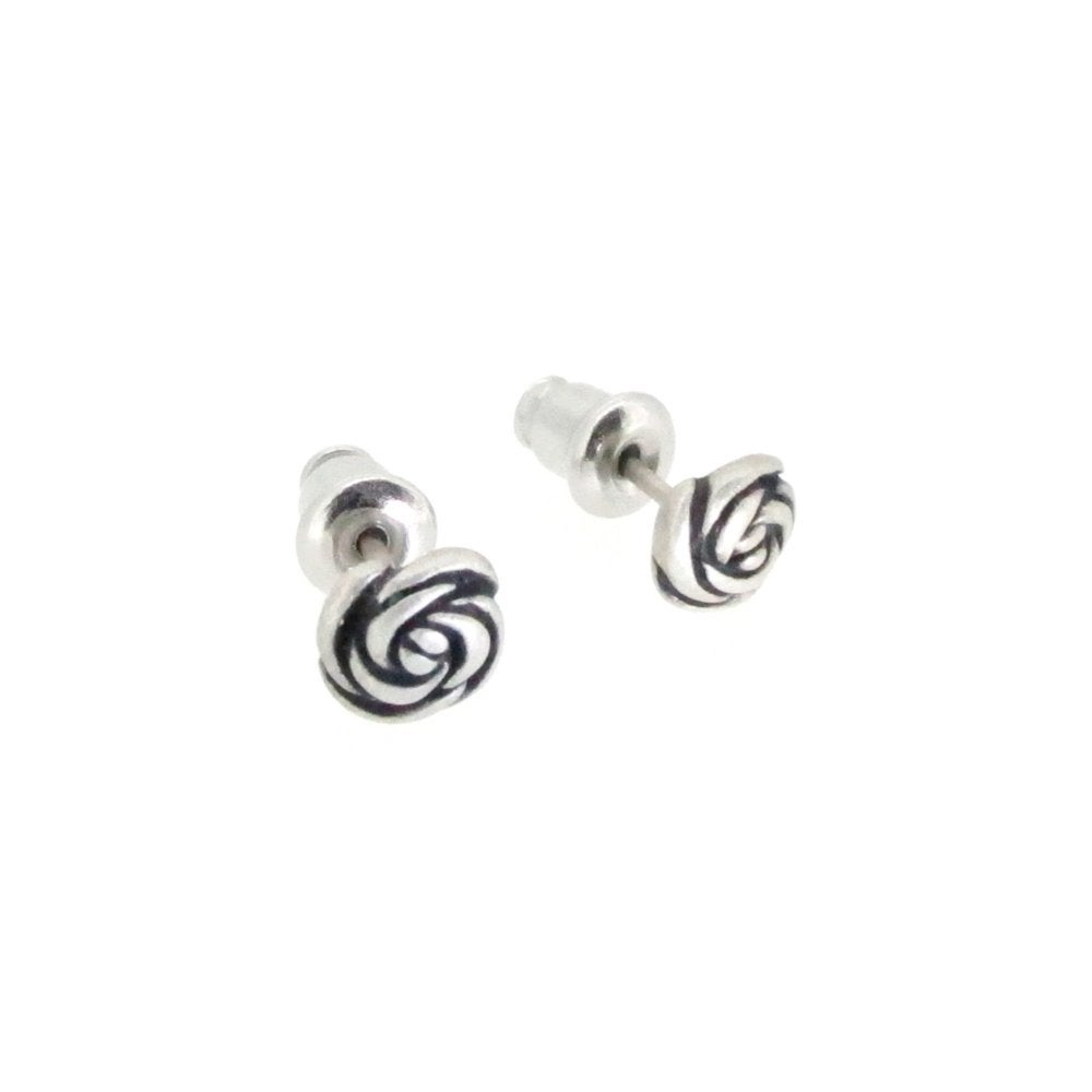Image of Springtime Rose bud earrings