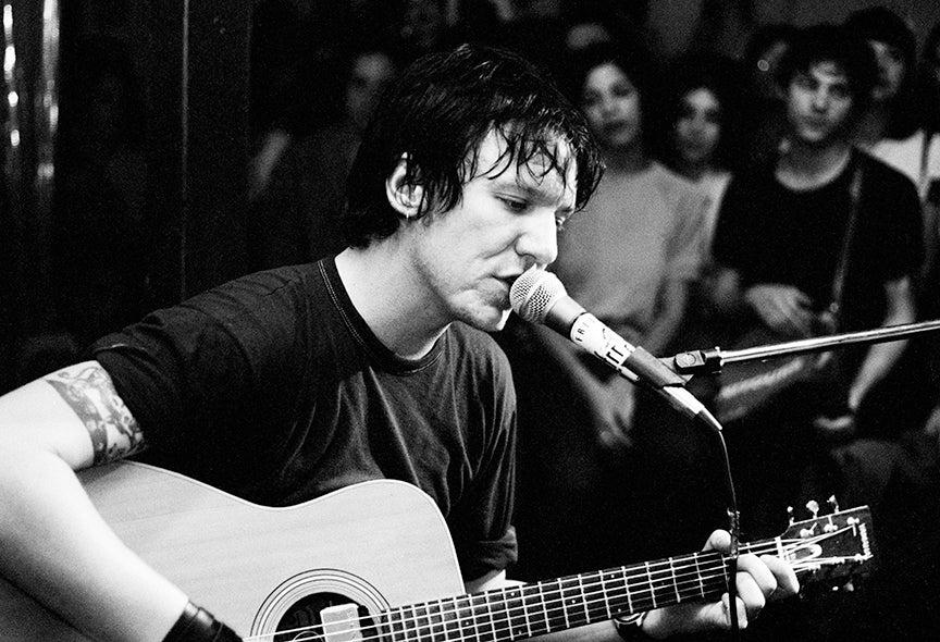 Image of Elliott Smith at Silverlake Lounge '99