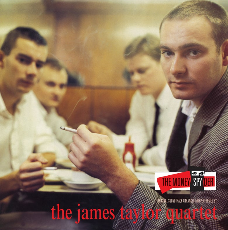 Image of James Taylor Quartet  - Money Spyder Album (LP)