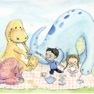 Image of Dinosaur Tea Party