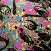 """Image of PaperMonster """"Meteor"""" 20 x 24 in Original Canvas 2008"""