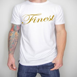 "Image of ""Finest"" Gold Tee"