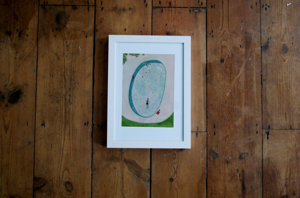 Image of Pool Giclee print