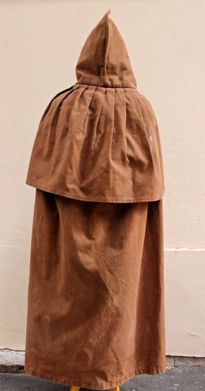 Image of 1930's FRENCH HERDSMAN CAPE CLOAK COAT フレンチファーマーズオイルドコート