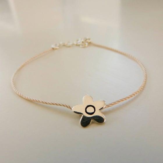 """Image of Bracelets en argent """"mini-fleur"""""""