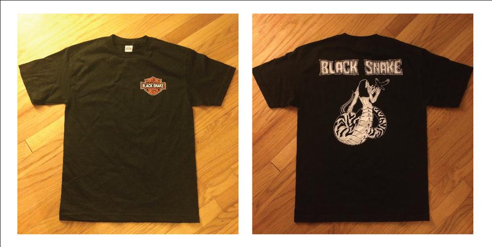 """Image of Black Snake """"Snake Lady"""" shirt"""