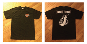 "Image of Black Snake ""Snake Lady"" shirt"