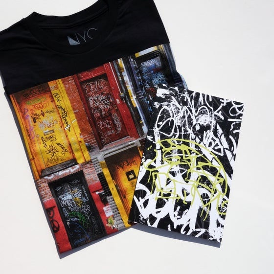 Image of Grilled III zine and T-shirt package