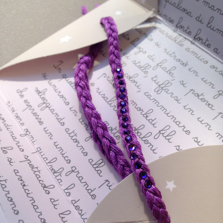 Image of Filo di Stelle 103 - Purple