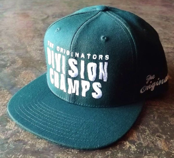 Image of OG DIVISION CHAMPS SNAP-BACK (FOREST GREEN)