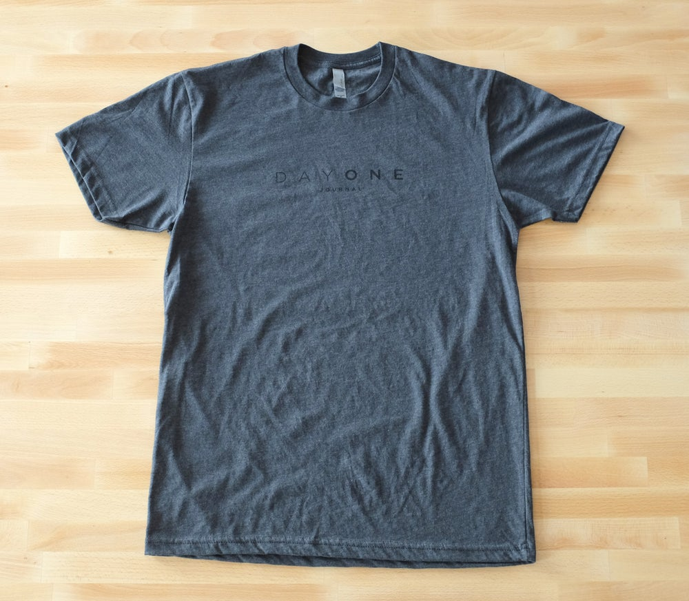 Image of Day One T-Shirt — Charcoal
