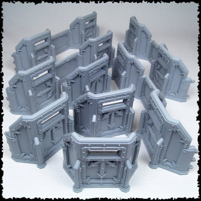 Image of Tutamen Mk.I Hvy. Siege Wall Kit