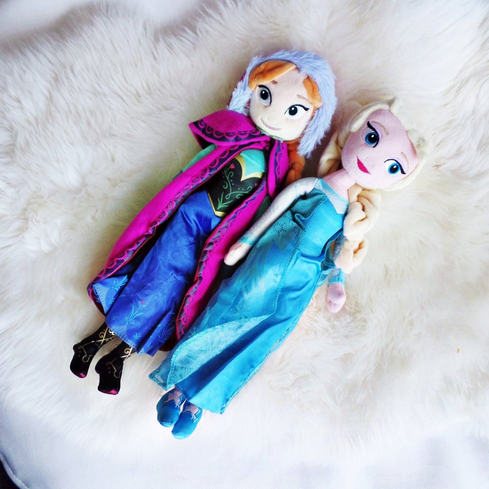 Image of Elsa & Anna - Frozen Plush Toys
