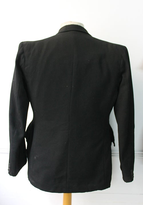 Image of 1940'S FRENCH DOUBLE BREASTED WOOL BLAZER