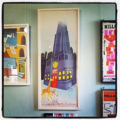 Image of THE GIRAFFE & THE PELLY & ME ...doing Chicago! (art print)