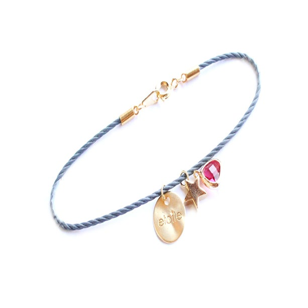 Bijoux fantaisie - Bracelet étoile
