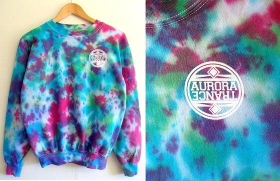 Image of Tropical tie dye sweatshirt
