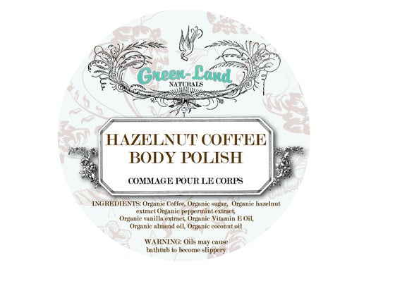 Image of Hazelnut Coffee Body Polish