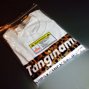 Image of TANGINAMO animal print box logo shirt
