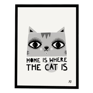 Image of Home is where the Cat is