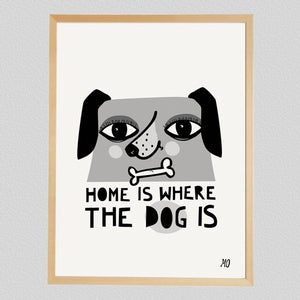 Image of Home is where the Dog is