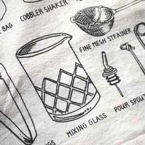 Image of Bar Tools Tea Towel