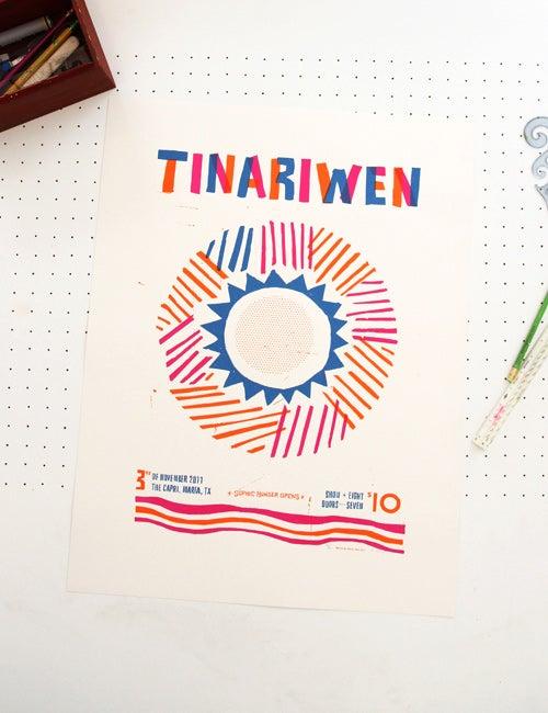 Image of TINARIWEN - POSTER