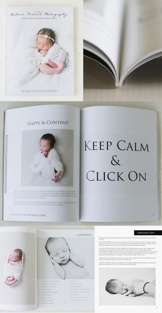 Image of The Art of Newborn Photography Guide HARD & PDF COPY