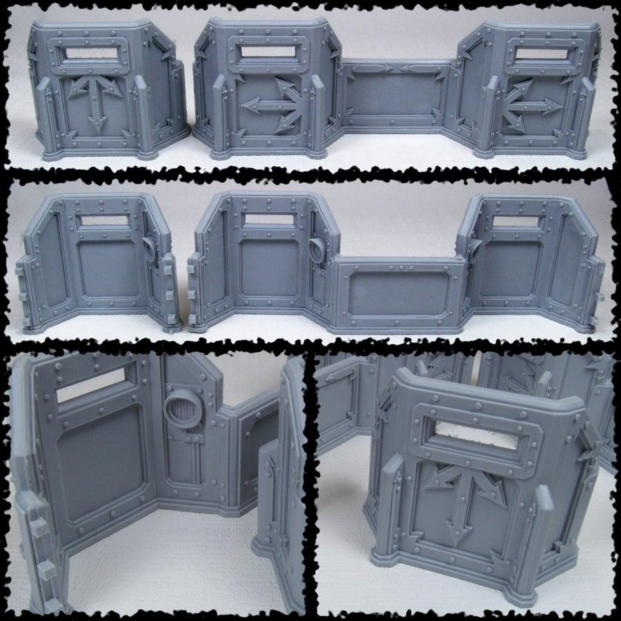 Image of Tutamen Mk.I Hvy. Siege Wall Kit